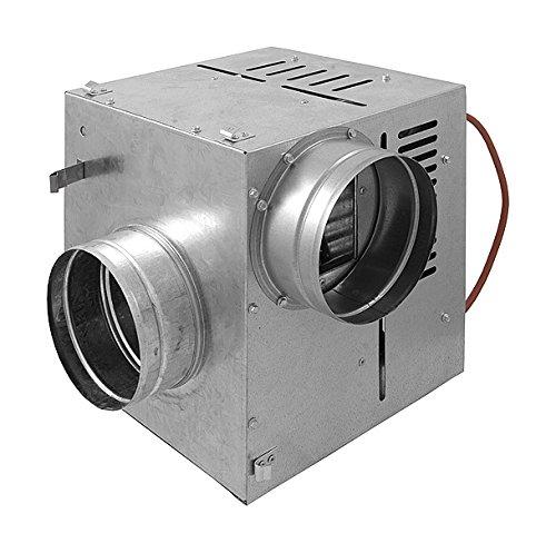 Warmluftverteilung Kamin Gebläse NEU Turbine Ventilator AN1 125mm 490m3/h
