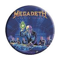 MEGADETH メガデス (デビュー35周年記念) - Alien/バッジ 【公式/オフィシャル】