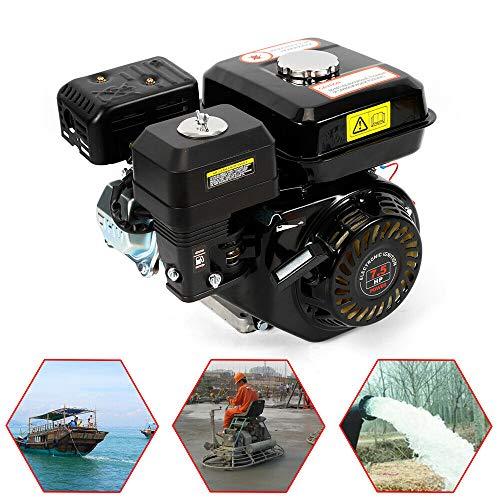 Benzinmotor Kartmotor Standmotor Antriebsmotor 4 Takt Motor 5100W 7,5 PS Ölmangelsicherung Balkenmäher Rasenmäher Schneefräse Luftkühlung