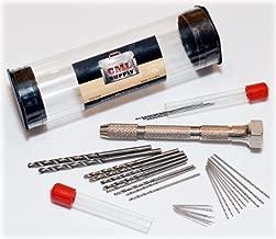CML Supply Mini Micro Drill Bit Set and Pin Vise Chuck 31 pcs
