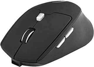 Bundle of 2, Docooler G823 Dual Mode Optical Computer Mouse Wireless 2.4G 2400DPI Portable Recharge Gaming Mouse Mice for ...