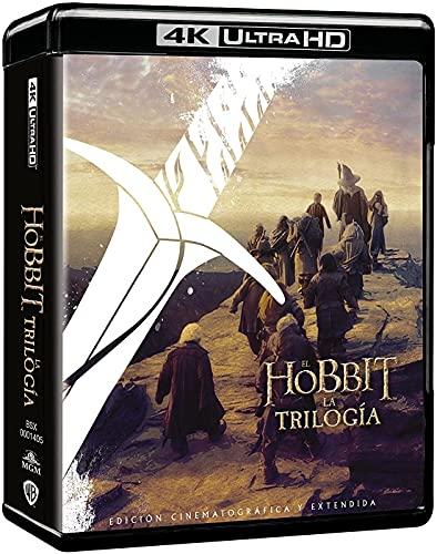 Trilogía El Hobbit versión extendida 4k UHD [Blu-ray]