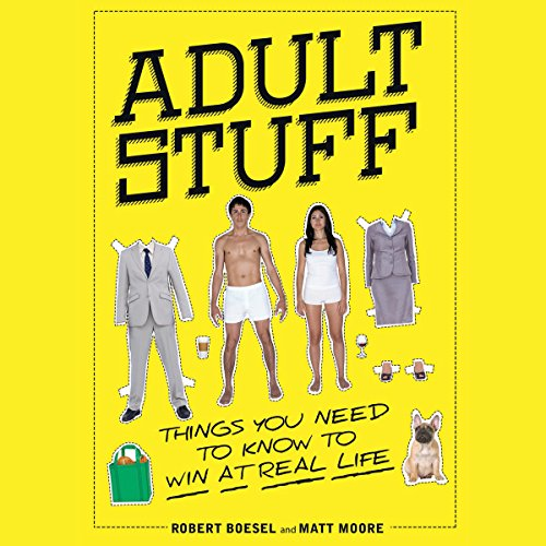 Adult Stuff audiobook cover art