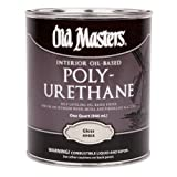 Old Masters 3576 Polyurethane Oil-Based Finish Gloss, 1 quart,Clear