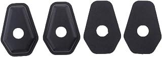 FLAMEER 4x Adapterplaten Adapterplaten voor Knipperlichten Motor voor Suzuki GSF600 2000-2005