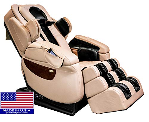 Luraco iRobotics 7 PLUS Medical Massage Chair (Cream)