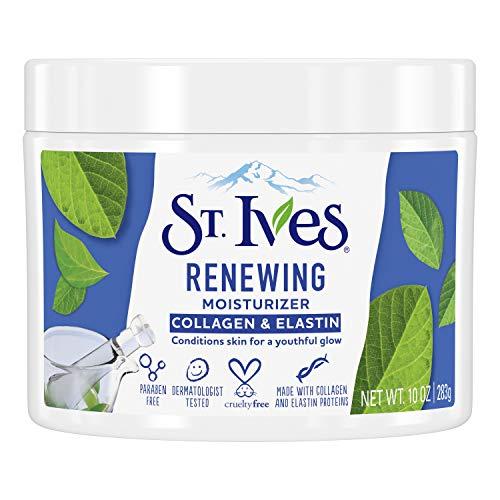 St Ives Crema hidratante facial de colágeno de piel