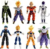 8Pcs/Set Amazing Z Dragon Bal DBZ Joint Movable Action Figures Kids Toys New Idea