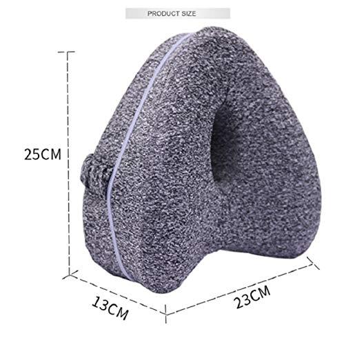 MLXZXQT Leg Pillow/Leg Pillowcase(No Pillow Core) Memory Foam Sleeping Pillow Leg Positioner Knee Support Cushion