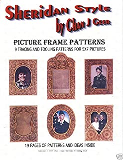Sheridan Style Picture Frame Patterns by Chan Geer (Leather Pattern Pack)