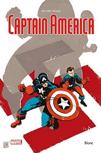 Captain America blanc