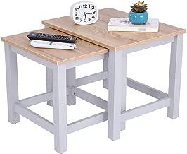 Happy Home Tavolino da salotto con ampio scomparto nascosto per soggiorno 80x48x80cm