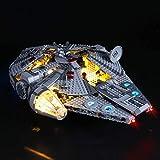 LED Light kit for Lego 75257 Star Wars Millennium Falcon, Lighting Set for Lego 75257 Building Blocks Model (Only Light Included)
