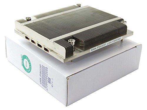 Supermicro passive 1U CPU Heatsink 1HE Kühler Socket Sockel LGA 1366 SNK-P0033P (Zertifiziert und Generalüberholt)