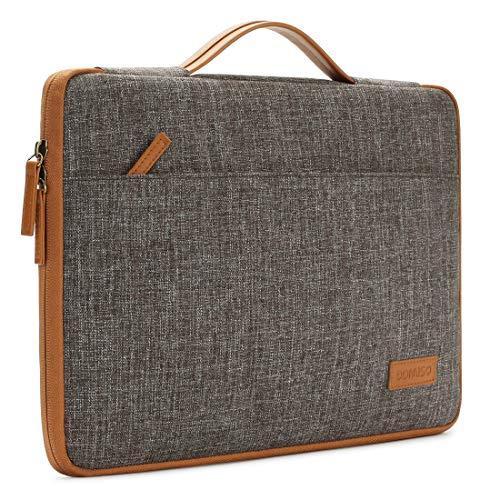 DOMISO 17 Zoll Wasserdicht Laptophülle Laptop Sleeve Hülle Notebook Hülle Tasche für 17.3
