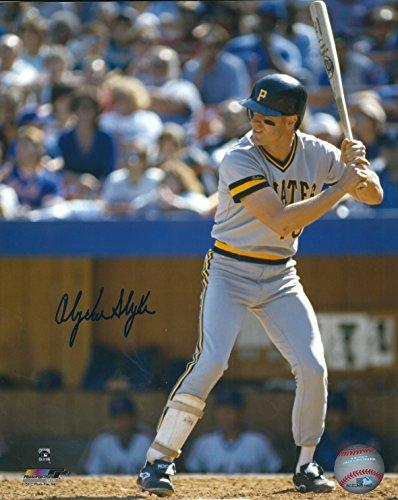Autographed Andy Van Slyke 8x10 Pittsburgh Pirates Photo with COA