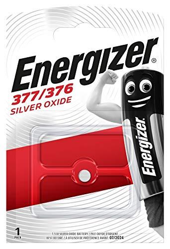 Energizer Uhren-Knopfzelle 377
