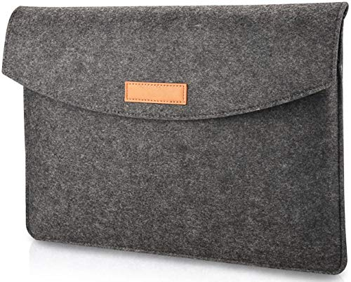 AMOTIE 13-13.3 Inch Laptop Sleeve Case Bag Compatible with 13.3 MacBook Air/MacBook Pro 2012-2015 Retina/Pro/Retina/Touch Bar for 13' Notebook Computer Tablet Ultrabook/12.9' iPad Pro, Dark Gray
