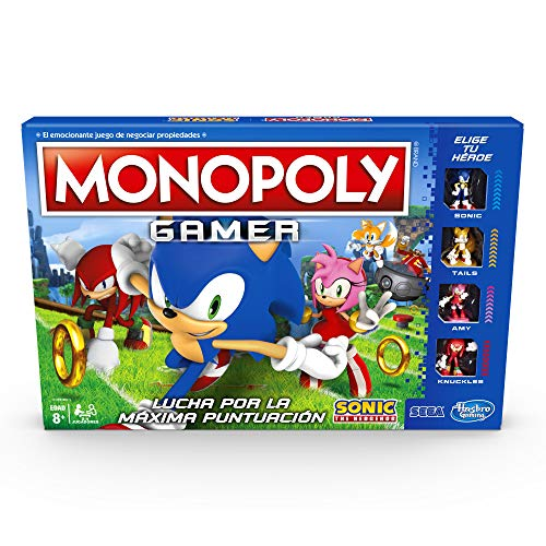 mario kart monopoly gamer fabricante Hasbro Gaming