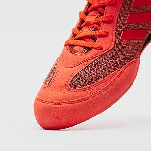 adidas Box Hog 3 Plus Boxing Shoes, Electric Red, 9.5