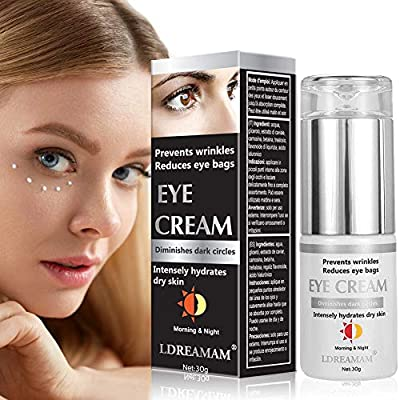 Eye Cream,Anti Aging Eye Cream,Anti Wrinkle Eye Cream,Moisturiser eye cream, Eye Gel For Dark Circles and Puffiness, Eye Bags, Crow's Feet, Fine Lines, and Sagginess