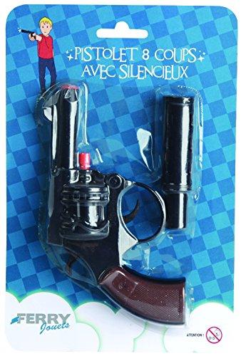 Sans marque - Pistolet 8 Coups + Silencieux