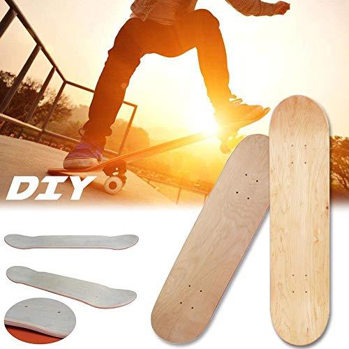 Lizefang Plateau De Skateboard Bois -...