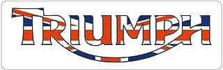 Triumph Motorcycle Bumper Sticker | 5 - Sizes Decal Patch Laptop Vinyl | Triumph Motorcycle Poster