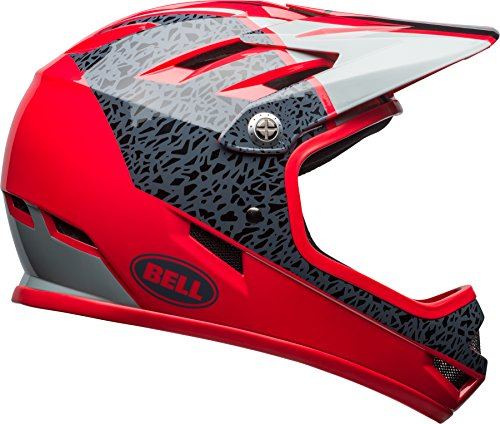 Bell Sanction Adult Dirt Bike Helmet - Force Blue/Retina Sear (2018), Medium (55-57 cm)
