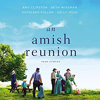 An Amish Reunion audiobook cover art