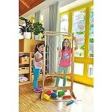 KL-Toys Riesen Webrahmen / Bodenaufsteller / Maße: 40 x 64 x 125 cm / Material: Holz, Baumwolle,...