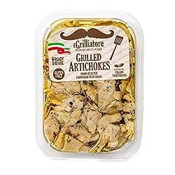 Il Grilliatore Grilled Artichoke Quarters, 8 oz