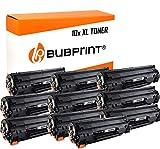 Bubprint Kompatibel Toner als Ersatz für HP 85A CE285A für Laserjet Pro M1130 M1132 M1136 M1212nf M1217nfw MFP P1002 P1100 P1102 P1102w P1106 P1108 P1109w Schwarz 10er-Pack