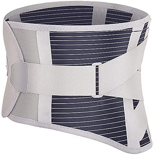 RGHS Cinturón De Soporte De Cintura Ajustable con Autocalentamiento, Masaje con Soporte Lumbar, Alivio del Dolor Ortopédico De Hernia De Disco, para Soporte De Descompresión De Espalda