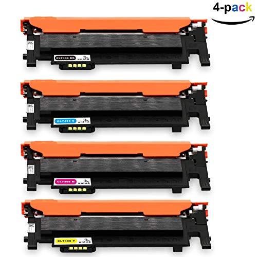 ONINO Kompatibel für Toner Samsung CLT-406 Toner für Samsung CLX-3300 CLX-3305 CLX-3305FN CLP-360 C410W C460W C460FW CLP-360N SL-C467W CLP-365 CLP-365W CLP-368