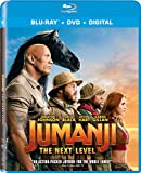 JUMANJI-NEXT LEVEL BLU-RAY DVD DIGITAL 2020 Slipcover INCLUDED SHIPS TODAY!