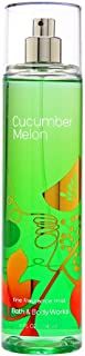 Bath & Body Works Cucumber Melon Fine Fragrance Mist, 8 Ounce