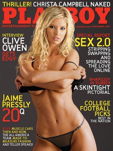 Playboy Magazine, September 2007