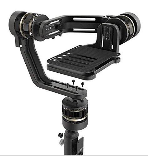 Gowe Gyroskop Handheld Gimbal Stabilisator für Sony, Panasonic, Canon, Fujifilm und ähnliche Gewichtsgröße, spiegellose Kamera