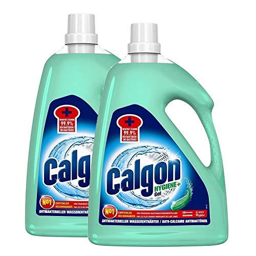 Calgon Hygiene+ Gel - Antibakterieller Wasserenthärter für die Waschmaschine - DUO (2 x 2,25l)