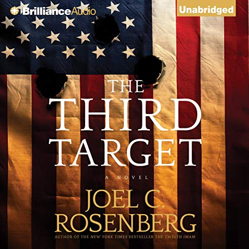 The Third Target audiobook cover art