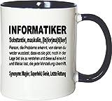 Mister Merchandise Kaffeebecher Tasse Informatiker Definition Geschenk Gag Job Beruf Arbeit Witzig...