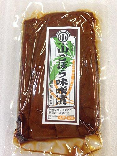 マルコ醸造 山ごぼうみそ漬(袋入)100g