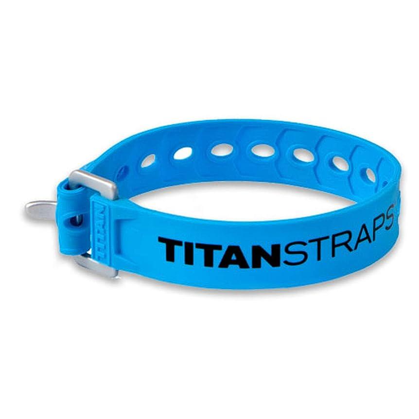 プロット前兆アクション[タイタンストラップ] スーパーストラップ SUPER STRAP ブルー 30cm TS-0914-FB