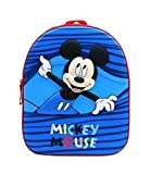 Bagtrotter Sac à dos goûter Maternelle 31cm Mickey Bleu Disney