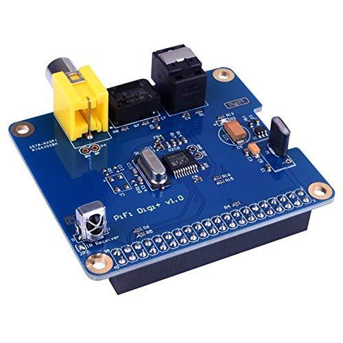 Tamkyo WM8804G HiFi DiGi + Digitale Soundkarte I2S SPDIF RCA I2S-Schnittstelle für Optische Glasfaser für Raspberry Pi 3/2 B B + EIN + Volumio
