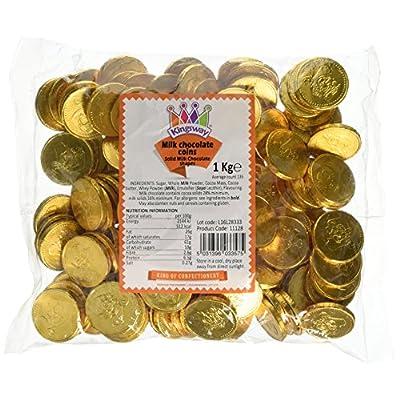 milk chocolate gold pirate coins 1 kilogram bag (approx 135 coins) Milk Chocolate Gold Pirate Coins 1 Kilogram Bag (Approx 135 coins) 51qPAERC IL