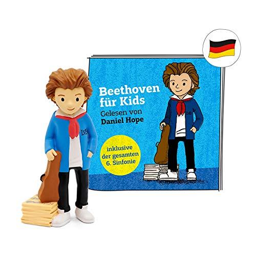 tonies Hörfiguren für Toniebox - Ludwig Van Beethoven für Kids gelesen von Daniel Hope - ca. 80 Min. - Ab 4 Jahre -DEUTSCH
