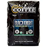 Fresh Roasted Coffee LLC, Black Knight Organic Coffee, Dark Roast, Whole Bean, 5 Pound Bag