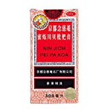 Nin Jiom Pei Pa Koa Sore Throat Cough Syrup 100% Natural Herbal Honey Loquat Flavored Helped to Clear Up Laryngitis and Soothe A Sore Throat (10 Fl. Oz. - 300 Ml) (300ML)
